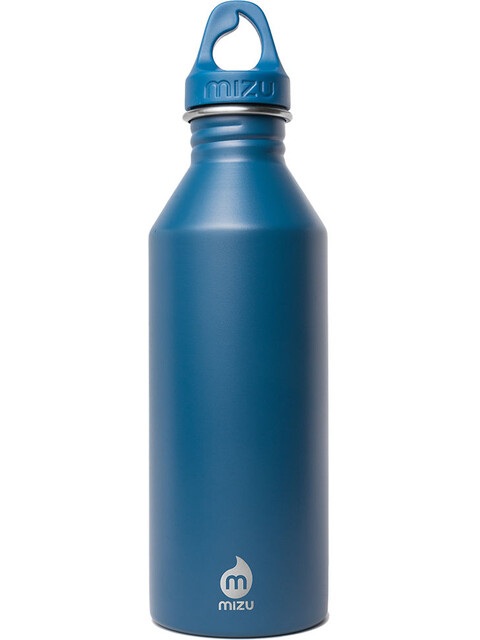 MIZU M8 Drikkeflaske with Blue Loop Cap 800ml blå